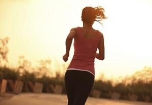 Jogging Im Herbst Zielpunkte Anvisieren