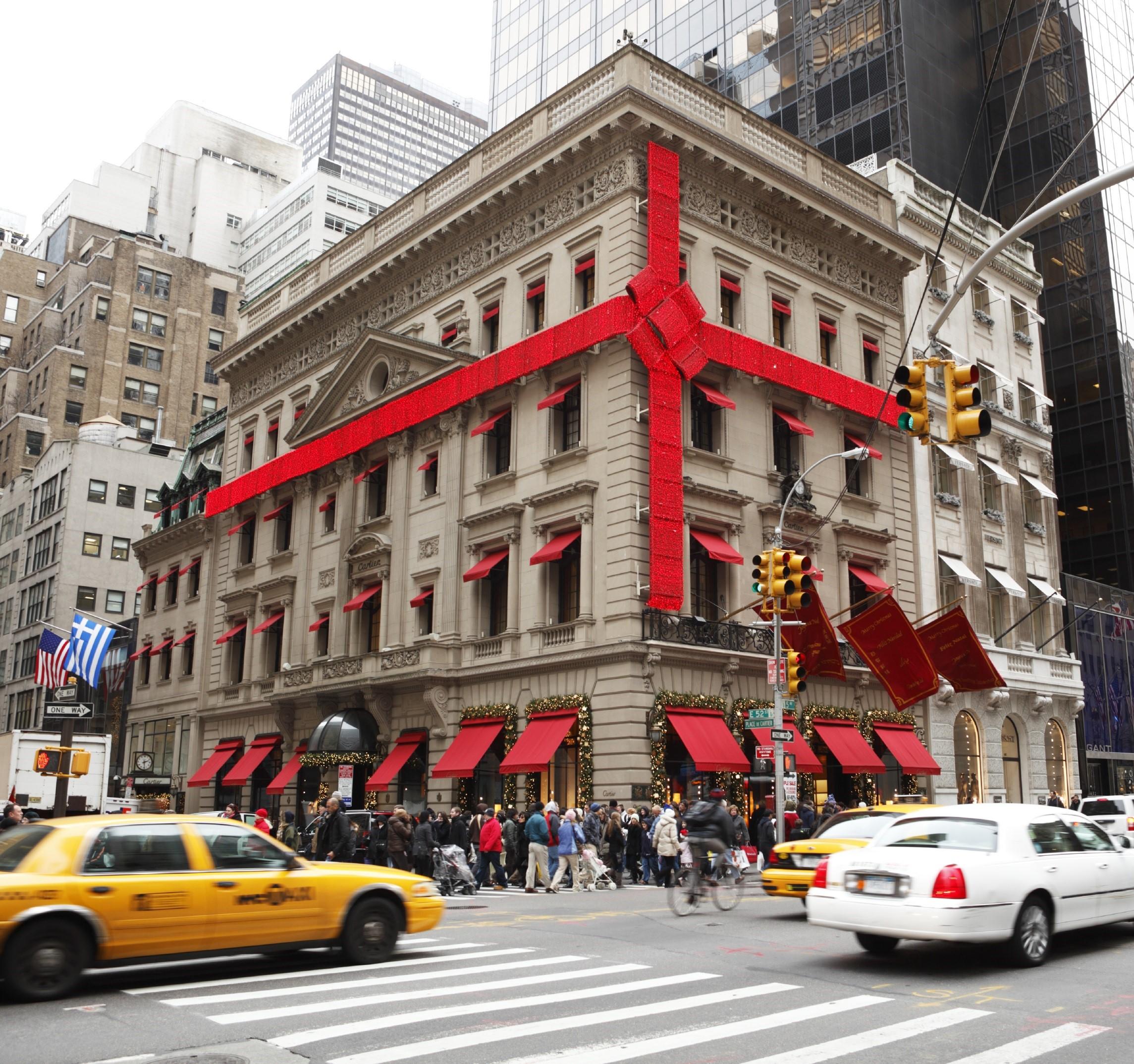 weihnachtsshopping new york