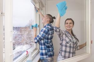 Reinigungsservices Test - qualifiziertes Personal
