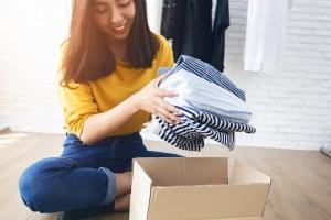 Gutes tun Kleiderspende